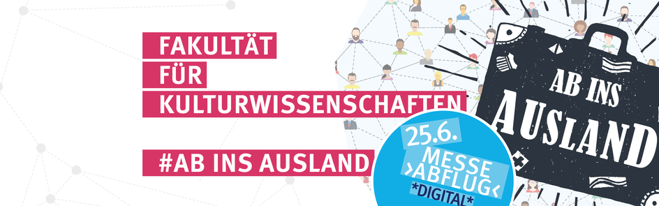 Ab ins Ausland - Messe digital